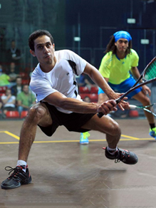 Harrow Squash Elite Team - Tarek Momen